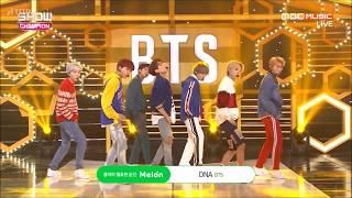 [繁中字/Eng] BTS (防彈少年團) - DNA 170927 (Live)