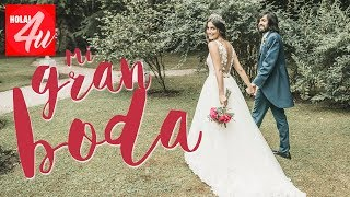 La BODA de Paula Moya y Sergio: Nuestro día más especial   HOLA4U