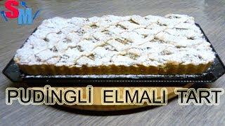 (Pudingli) Elmalı Tart Tarifi Nasıl yapılır Sibelin Mutfağı ile yemek tarifleri