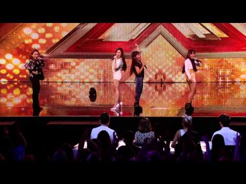 "4th Power or ""MICA"" sing on UK The X Factor 2015"