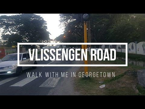 Vlissengen Road - Walk with me in Georgetown