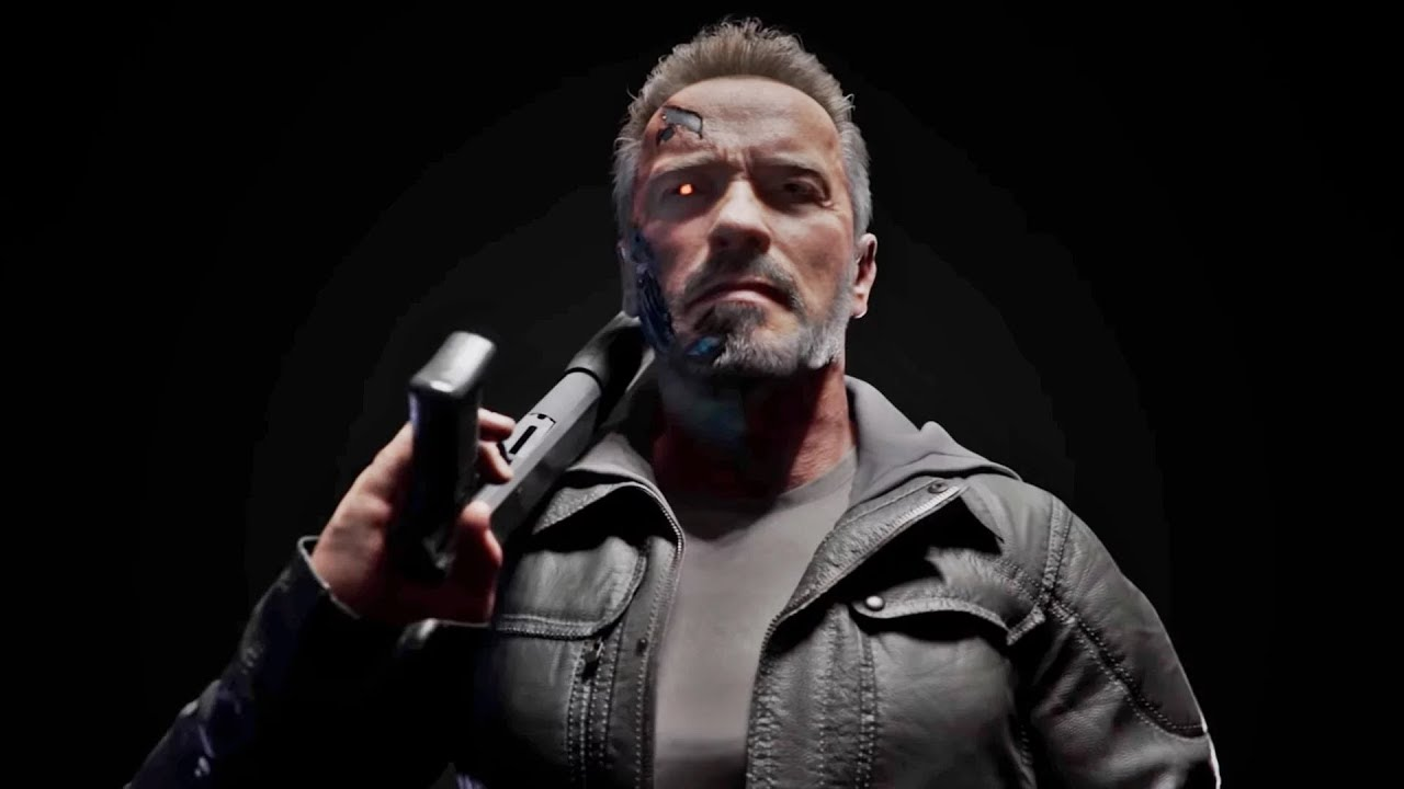 Mortal Kombat 11 - Terminator T-800 Gameplay First Look