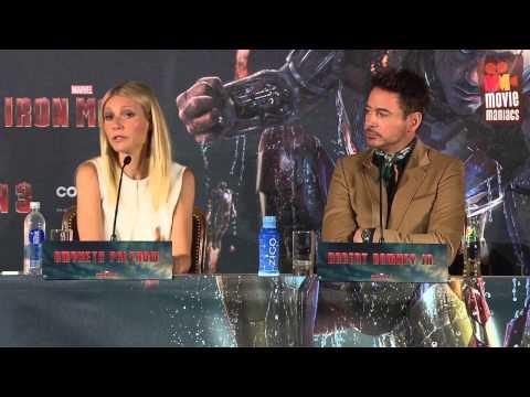Iron Man 3 | meet the press Munich (2013) Robert Downey Jr.