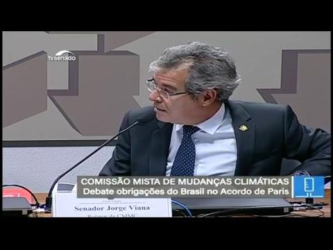 Mudanças Climáticas - TV Senado ao vivo - CMMC - 13/06/2018