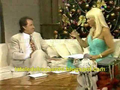 Carlos Villagrán (Quico) con Susana Gimenez