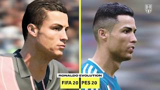 The Evolution of Cristiano Ronaldo on FIFA and PES