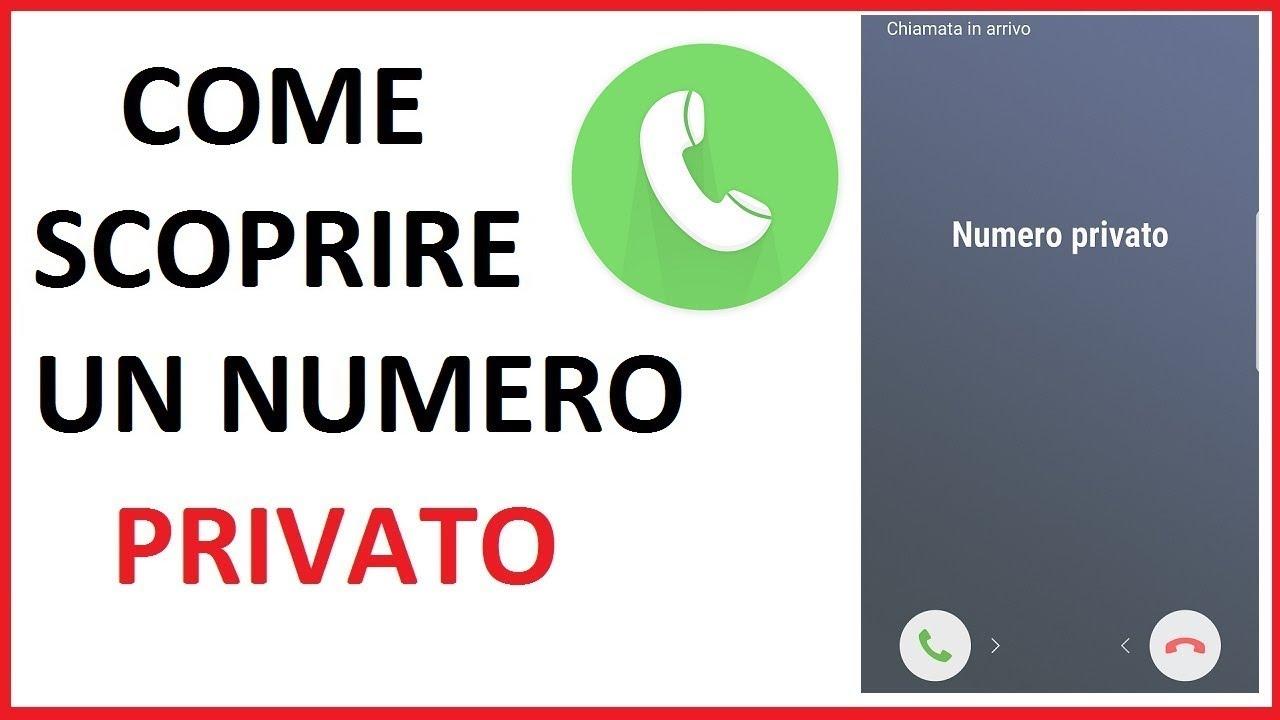 Come rendere il vostro numero privato - it.apprendrez.info