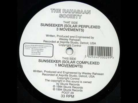 Rashaan Society -  Sunseeker (Solar Perplexed)