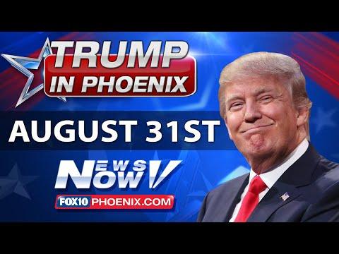LIVESTREAM: Donald Trump Phoenix Rally - MUST WATCH Immigration Speech FULL COVERAGE FNN