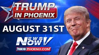 LIVE: Donald Trump Phoenix Rally - Illegal Immigration Speech