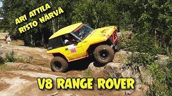 MIDSUMMER 4X4 TRIAL, V8 Range Rover Ari Attila, Risto Närvä