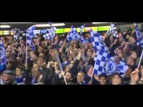 Samuel eto'o Chelsea Goals Chelsea vs Galatasaray 2-0