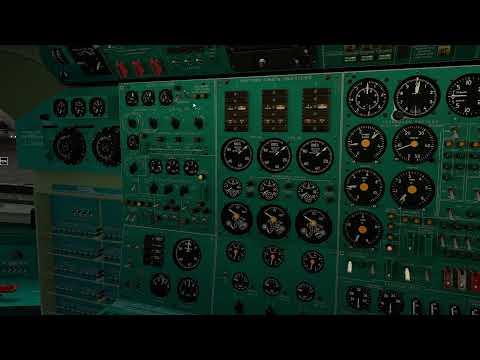 UUWW-LKPR-UUWW XP11 Tu-154 VATSIM