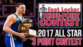 2017 NBA 3 Point Contest (NBA Live 98) & 25 hf4hs