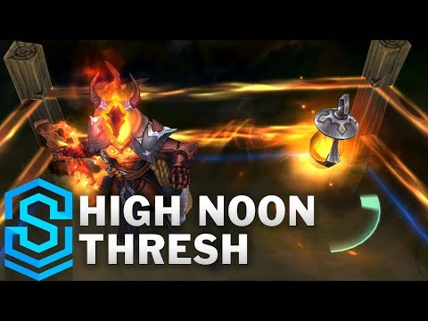 High Noon Thresh Skin Spotlight  PreRelease  League of Legends