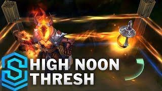 High Noon Thresh Skin Spotlight - Pre-Release - League of Legends
