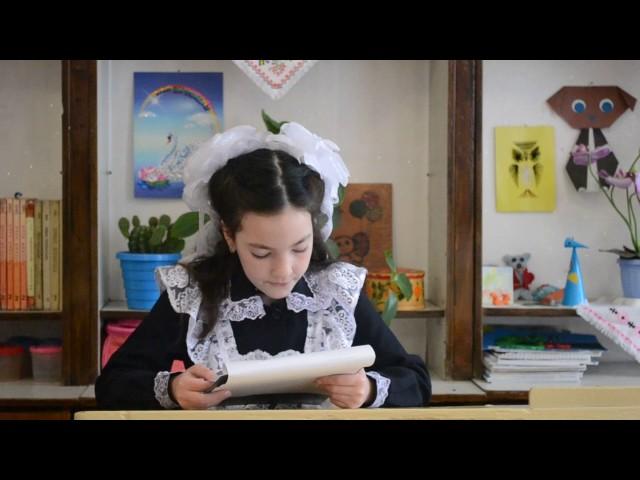 Изображение предпросмотра прочтения – АнгелинаВоронина читает произведение «Кем быть?» В.В.Маяковского