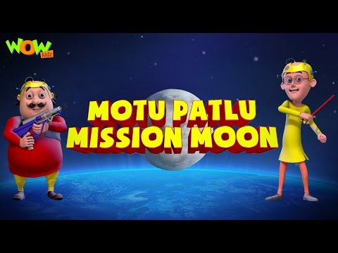 Motu Patlu Mission Moon |Movie | ENGLISH,...