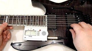 электрогитара: Настройка Floyd Rose