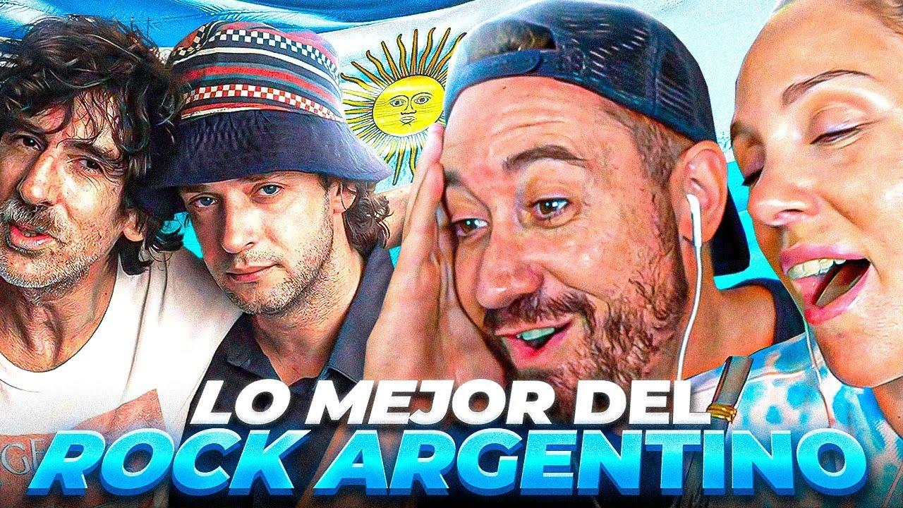 Españoles ALUCINAN con el MEJOR ROCK ARGENTINO 🇦🇷 EPICOOO!!
