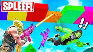 LAST PLAYER STANDING WINS! *NEW* Spleef Gamemode in Fortnite