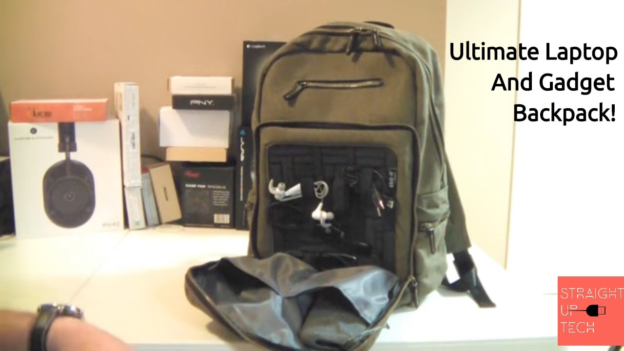 956174bcdf47 Ultimate Tech Backpack - Gridit Cocoon Urban Adventure 16