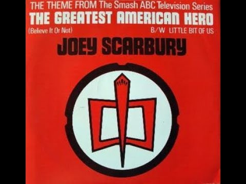 Joey Scarbury - Theme From The Greatest American Hero (Believe It Or Not) (1981) HQ
