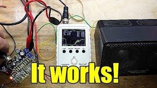 TDA2030 Amplifier Testing