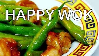 Stir Fry: Shrimp With Green Beans In Oyster Sauce : Authentic Chinese Cooking
