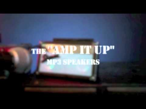 TEK105 Amp It Up MP3 Speakers
