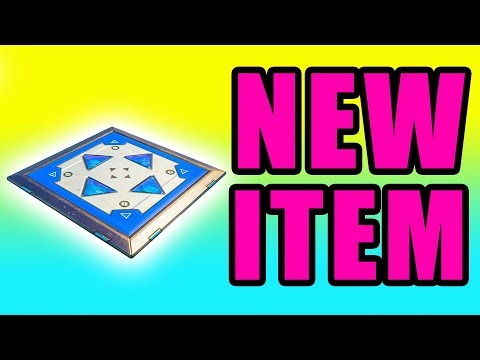 NEW Jump Pad (Bouncer) Item & Update! ⚠️ Fortnite Battle Royale Gameplay PC