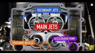 How to Tune Edelbrock Carburetor Carb Idle Mixture Screws Choke Metering Rods Jets Fuel Air Vacuum