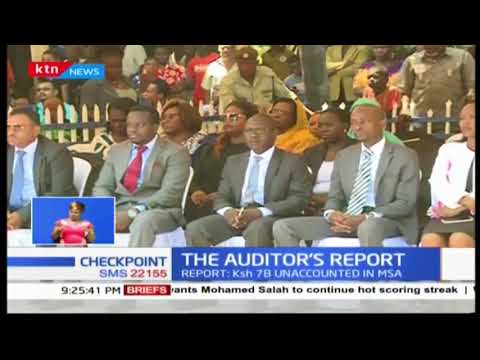 The Auditor's Report:Mombasa county on spot over gaps revealed by auditors report