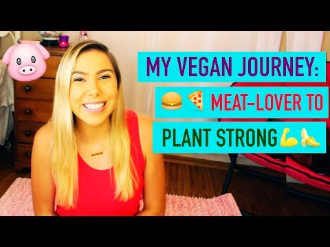 MY VEGAN JOURNEY & HOW YOU CAN GO VEGAN!!  MEAT LOVER to PLANT-STRONG!
