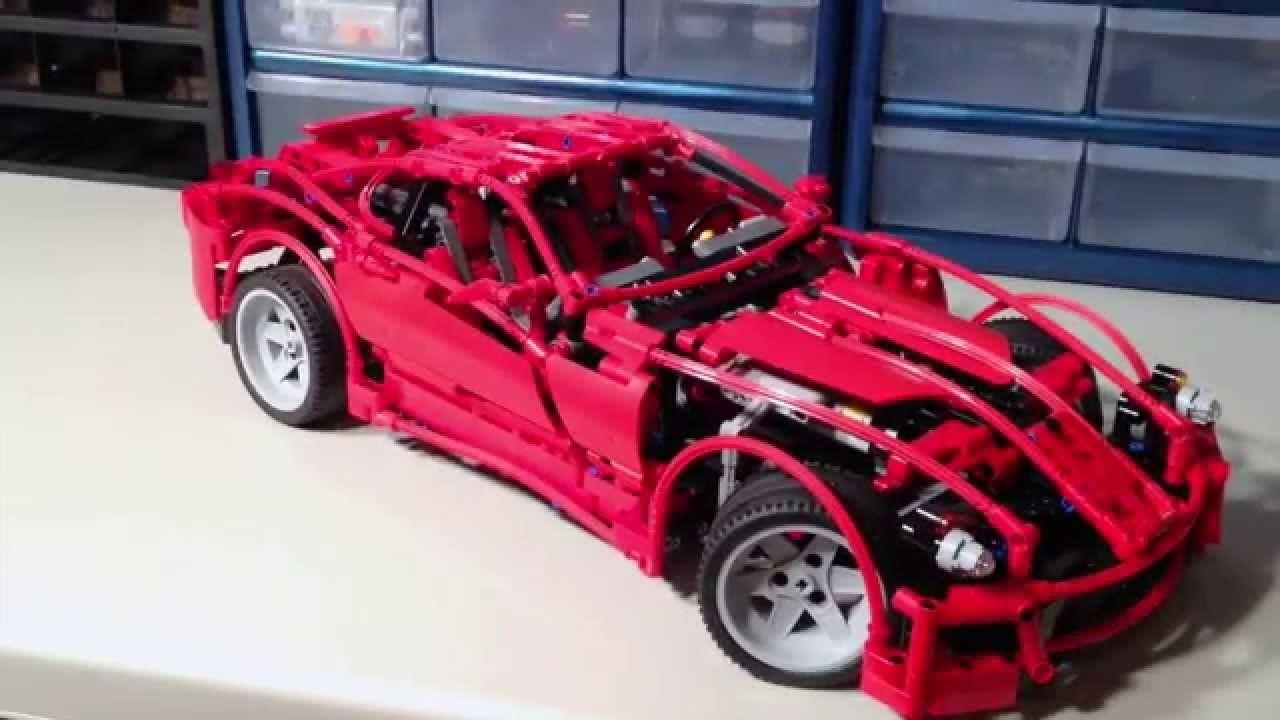 Lego Racers 8145 Ferrari 599 Gtb Fiorano Review Youtube