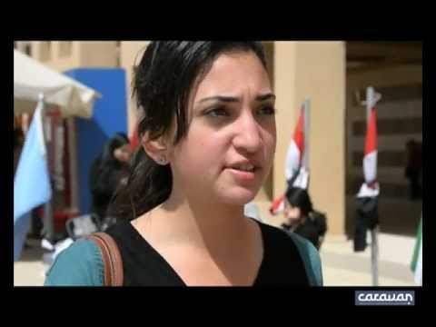 AUC's Plaza Talks:What do you think of AUC's political models? كلام فى البلازا