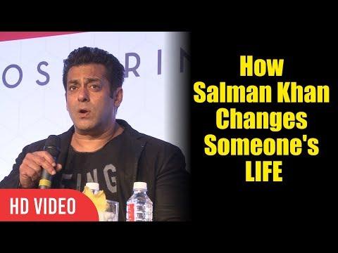 How Salman Khan Changes Someone's Life | Secrets Of Salman Khan | Viralbollywood