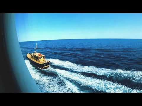 #GoPro #Mariner_of_the_seas, Guidance by Port Captain.