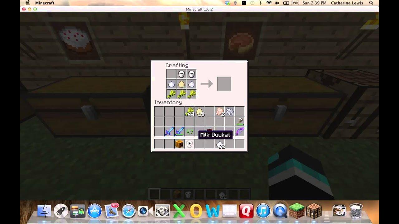 Minecraft How To Make Cake And Pumpkin Pie
