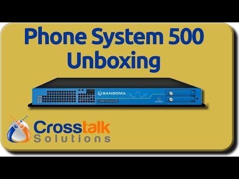 FreePBX Phone System 500 Unboxing