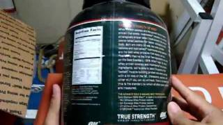 Optimum Nutrition, 100% Whey Gold Standard 5lb  - UNBOXING