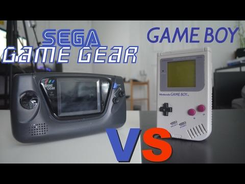 Nintendo Game Boy Vs Sega Game Gear - Review