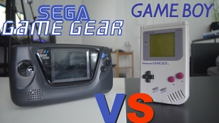Nintendo Game Boy Vs Sega Game Gear - Review