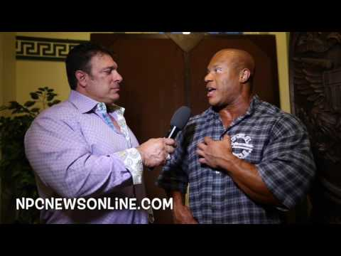 6-Time Mr.Olympia Phil Heath Interviewed at the 2017 IFBB Pittsburgh Pro For NPCNEWSONLINE.com
