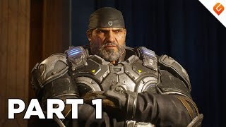 GEARS 5 Walkthrough Gameplay Part 1 - No Commentary