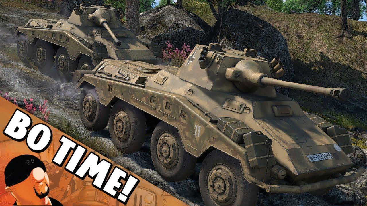 "War Thunder — Sd.Kfz.234/2 ""Pack of Wild Pumas!"""