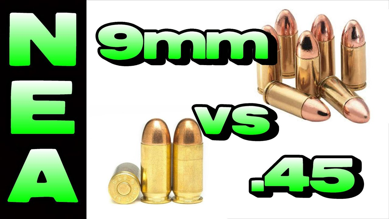 9mm vs 45 - The Facts & Which is Better for Defense? - YouTube