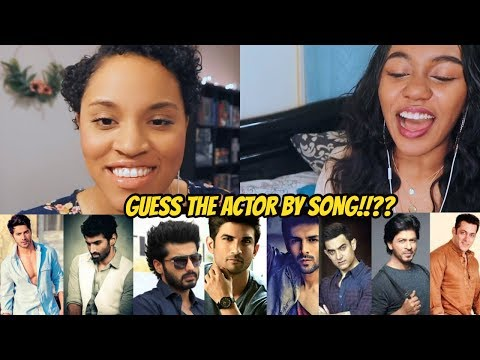 Guess the Actors By Song | Bollywood | CHALLENGE w/ SKYE!!