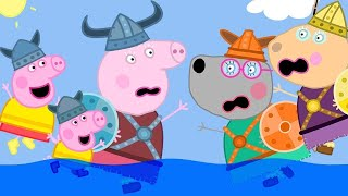 Peppa Pig Official Channel 🎃 Peppa Pig Becomes a Viking! | Peppa Pig Halloween Dress Up