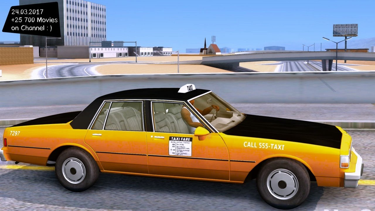Chevrolet Caprice Taxi 1989 Gta San Andreas Tuning 4k 60fps Gtx 1080